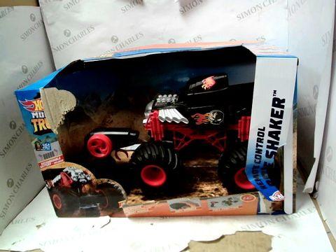 Lot 15067 HOT WHEELS MONSTER TRUCKS BONE SHAKER RC CAR RRP £43.99