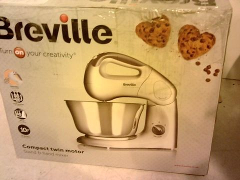 Lot 12100 BREVILLE COMPACT TWIN MOTOR MIXER