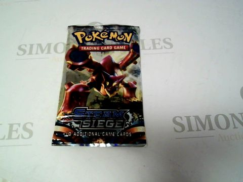 Lot 158 POKEMON TRADING CARD - STEAM SIEGE