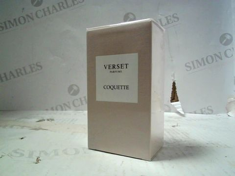 Lot 594 VERSET PARFUMS COQUETTE EDP 100ML