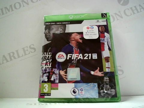 Lot 734 FIFA 21 FOR XBOX ONE  RRP £69.99