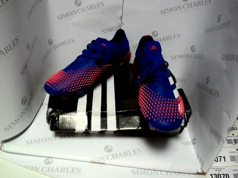 Lot 13068 BOXED PAIR OF DESIGNER ADIDAS PREDATOR - UK SIZE 8.5