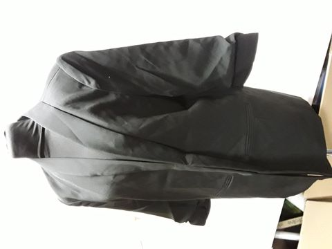Lot 2085 DESIGNER ONLY TAILORING RECYCLED POLYESTER BLACK JACKET SIZE UK 14