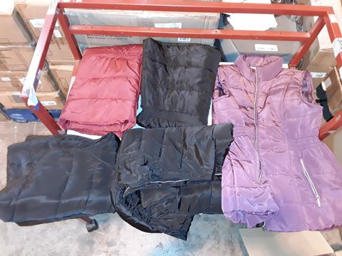 Lot 1213 LOT OF 10 ASSORTED BODYWARMERS