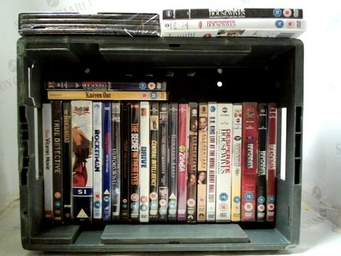 Lot 156 LOT OF APPROXIMATELY 27 ASSORTED DVD'D TO INCLUDE; ROCKETMAN, TRUE DETECTIVE ETC