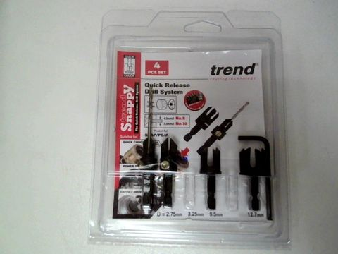 Lot 182 TREND SNAP/PC/A SNAPPY COUNTERSINK/PLUG CUTTER SET