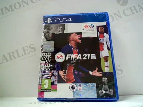 Lot 731 FIFA 21 PS4 RRP £70.00