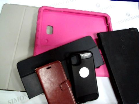 Lot 1197 JOBLOT OF ASSORTED PHONE/TABLET CASES APPROX. 20pc