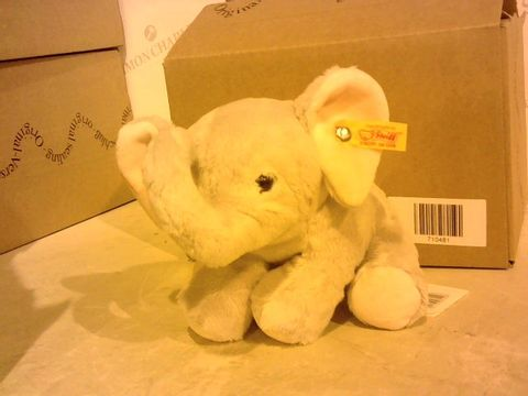 Lot 2854 BOXED STEIFF ELEPHANT SOFT TOY