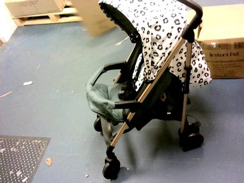 "Lot 5497 MY BABIIE MAWMA NICOLE ""SNOOKI"" POLIZZI MB51 LEOPARD STROLLER RRP £200.00"