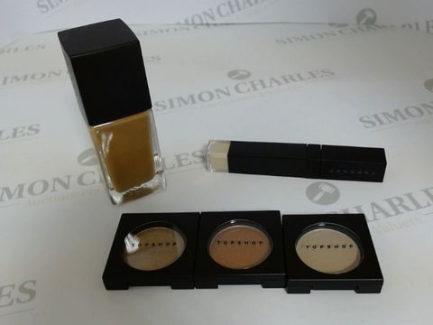 Lot 9452 BOX OF APPROXIMATELY 170 ASSORTED BRAND NEW MAKE UP ITEMS TO INCLUDE NUTMEG LIQUID FOUNDATION, SUEDE EYESHADOW, OAT LIQUID CONCEALER, ETC