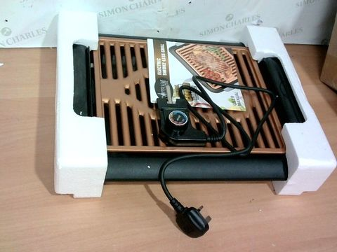 Lot 3377 GOTHAM STEEL COPPER NON-STICK ELECTRIC INDOOR GRILL