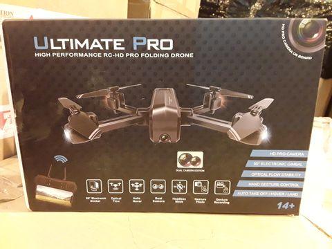 Lot 674 ULTIMATE PRO HIGH PERFORMANCE RC-HD PRO FOLDING DRONE