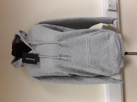Lot 13027 PRETTY LITTLE THING GREY MARL HOODIE SIZE M