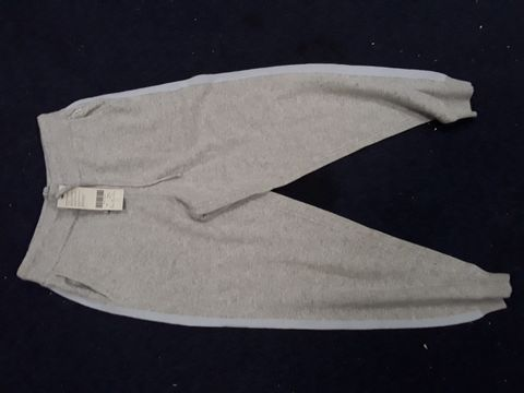 Lot 13048 SWEATY BETTY RECLINE WOOL CLOUD GREY MARL TROUSERS