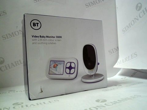Lot 586 MOTOROLA BT VIDEO BABY MONITOR 3000 RRP £99.99