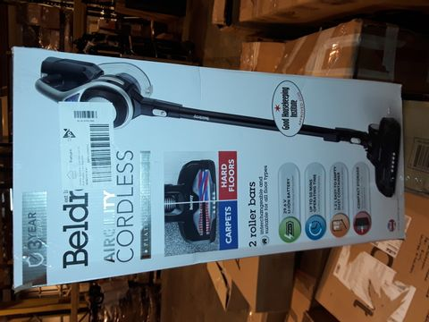 Lot 8311 BELDRAY AIRGILITY + CORDLESS VACUUM CLEANER