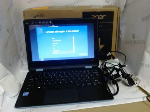 Lot 7709 BOXED ACER SPIN 1 WINDOWS LAPTOP, INTEL CELERON N3350, 4GB DDR3 RAM, 64GB EMMC STORAGE - TURQUOISE BLUE