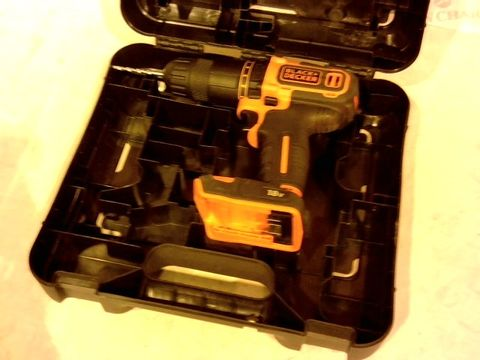 Lot 2175 BLACK AND DECKER BCD700S DRILL IN CASE