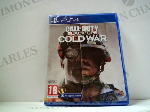 Lot 730 CALL OF DUTY BLACK OPS COLD WAR FOR PS4  RRP £69.99