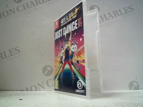 Lot 3014 JUST DANCE 2018 NINTENDO SWITCH GAME