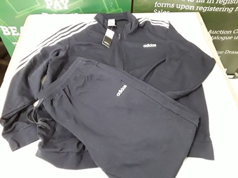 Lot 14 ADIDAS TRACKSUIT IN NAVY - 3XL