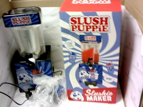 Lot 79 LIMITED EDITION SLUSH PUPPIE SLUSHIE MAKER RRP £94.99