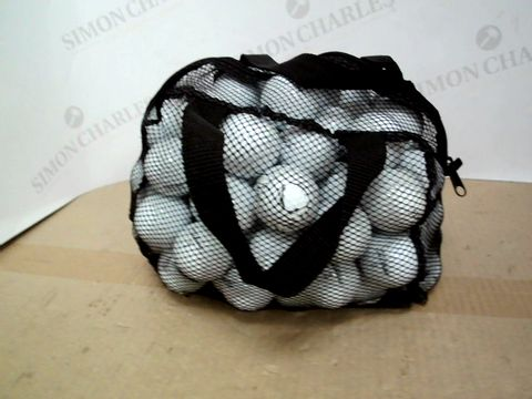 Lot 493 LOT OF A LARGE QUANTITY OF FITLEIST GOLF BALLS
