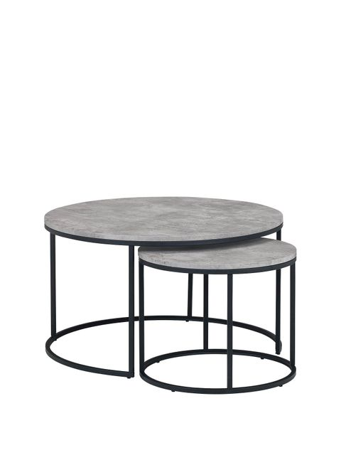 Lot 1000 STATEN NESTED COFFEE TABLE RRP £155.00