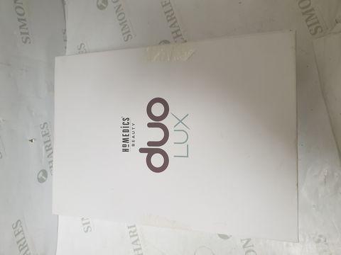 Lot 15191 BOXED HOMEDICS BEAUTY DUO LUX