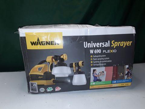 Lot 142 WAGNER UNIVERSAL SPRAYER W690 FLEXIO