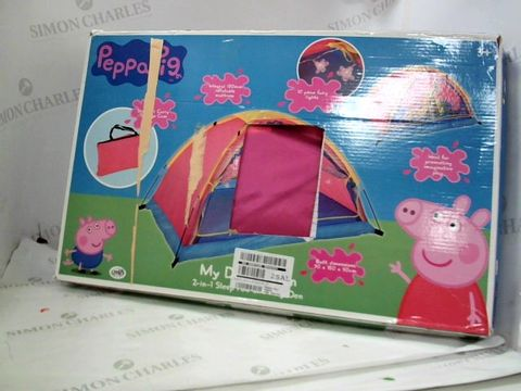 Lot 80 BOXED PEPPA PIG MY DREAM DEN RRP £69.99