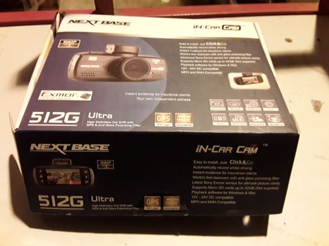 Lot 83 NEXTBASE 512G ULTRA HD DASH CAMERA
