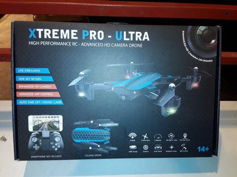 Lot 3067 XTREME PRO-ULTRA HIGH PERFORMANCE HD CAMERA DRONE