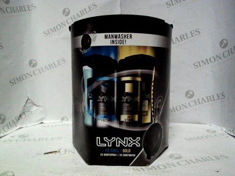 Lot 5253 LYNX ICE CHILL/GOLD BODY SET