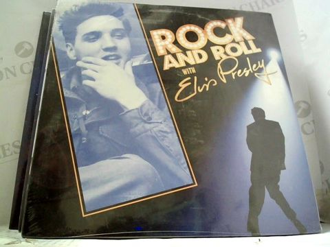 Lot 597 LOT OF 7 ASSORTED VINYL RECORDS TO INCLUDE: BB KING, DR WHO, ELVIS ETC