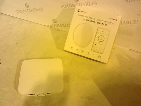 Lot 2733 2 ITEMS TO INCLUDE: AIRTHINGS WAVE PLUS SMART INDOOR AIR QUALITY MONITOR