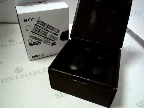 Lot 4075 SONY WF-XB700 TRUE WIRELESS HEADPHONES RRP £169.00