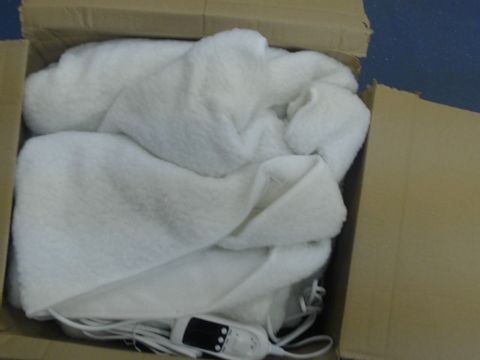 Lot 1411 HOMEFRONT ELECTRIC BLANKET DUAL CONTROL