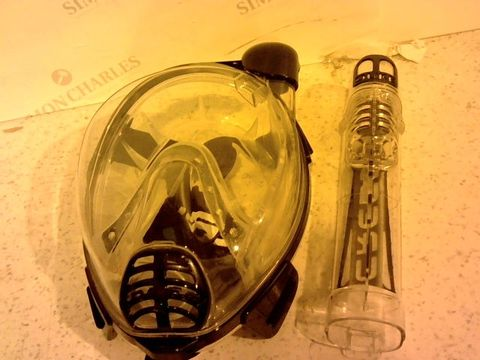 Lot 213 CRESSI ADULT SNORKELLING FULL FACE MASK