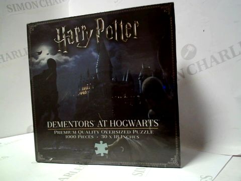 Lot 101 HARRY POTTER DEMENTORS AT HOGWARTS JIGSAW PUZZLE