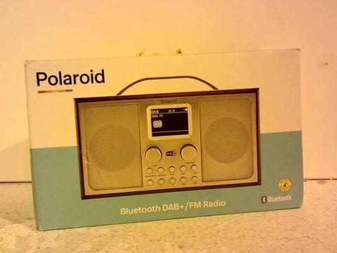 Lot 12323 POLAROID BLUETOOTH DAB+ / FM RADIO