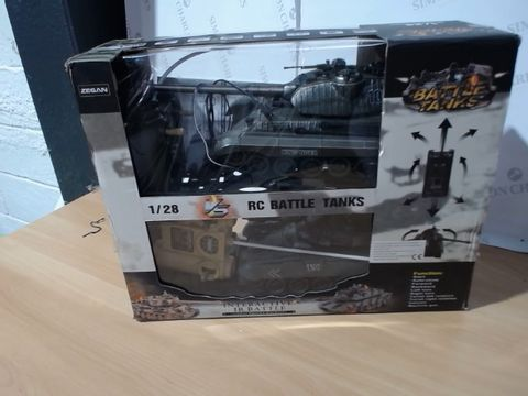 Lot 2593 BOXED BATTLE TANKS REMOTE CONTROL SET