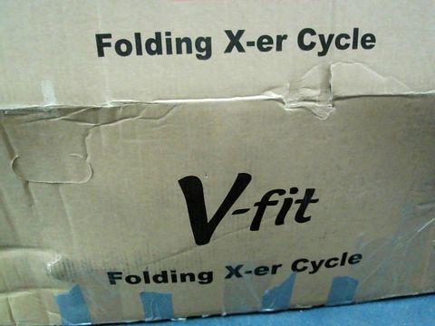 Lot 5222 FOLDING X-FRAME CYCLE RRP £169.99