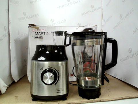 Lot 14011 WAHL JAMES MARTIN BLENDER, 1.75 LITRE, GLASS JUG BLENDER