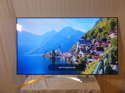 Lot 9 LG OLED65B7V 65 INCH OLED 4K ULTRA HD SMART TELEVISION