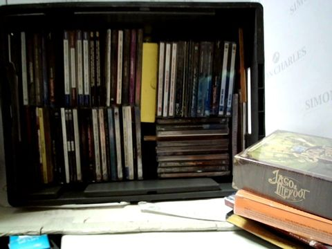 Lot 8134 LOT OF APPROXIMATELY 51 ASSORTED CD'S TO INCLUDE; IRON MAIDEN, BON JOVI ETC
