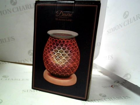 Lot 1626 BOXED DESIRE 3D AROMA LAMP