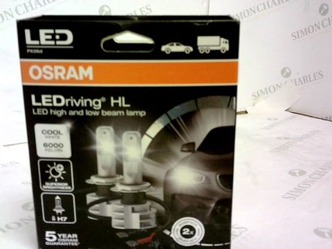 Lot 8 OSRAM KIT LEDRIVING H7 COOL WHITE LED CAR LIGHTS