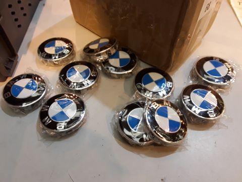 Lot 68 BOX OF BMW WHEEL CENTRES